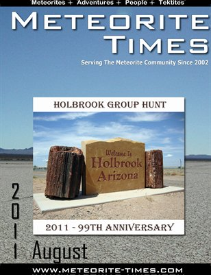Meteorite Times Magazine - August 2011