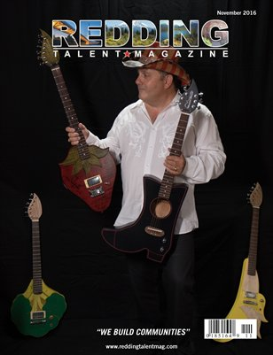 Redding Talent Magazine November 2016 Edition