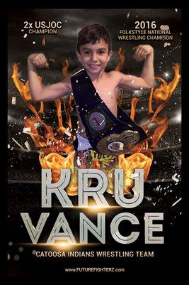 Kru Vance Fire Poster