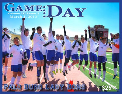 Volume 3 Issue 2 - Palo Duro Lady Dons Soccer