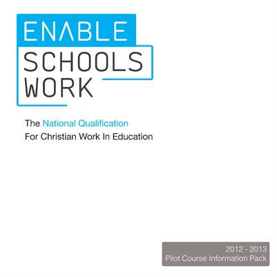 Enable: Schools Work Booklet