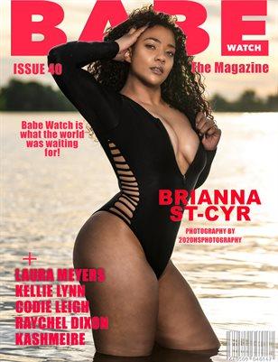 BABE WATCH MAGAZINE ISSUE 40 FT. BRIANNA ST-CYR