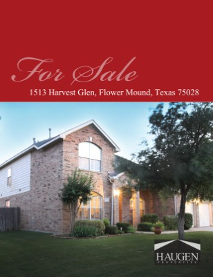 Haugen Properties - 1513 Harvest Glen, Flower Mound, Texas 75028