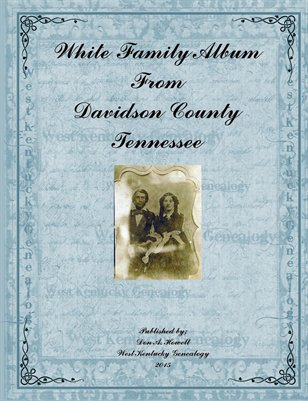 White Family Album from Davidson County, Tennessee