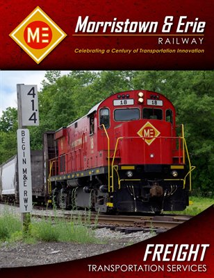 Morristown & Erie Railway Freight Transportation Services