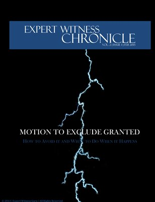 Expert Witness Chronicle