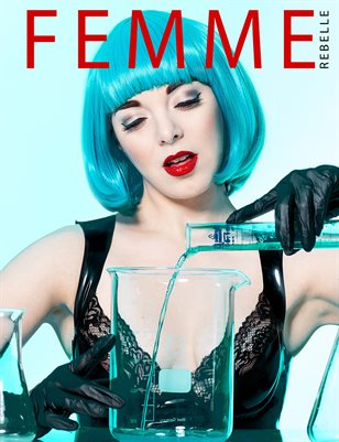 Femme Rebelle Magazine February 2019 BOOK 1 - Redtro Cover
