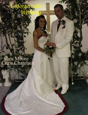 Wedding Photo Book Mr & Mrs Chris Chatelain