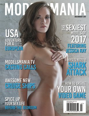 MODELSMANIA JULY/AUGUST 2017 JESSICA KAY