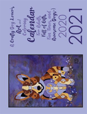 Crafty Dog Lovers Art and Craft Calendar