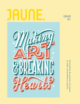 Jaune Magazine Issue 01 \ Cover 6