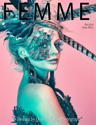 Femme Rebelle Magazine October 2016 - ISSUE 20.2