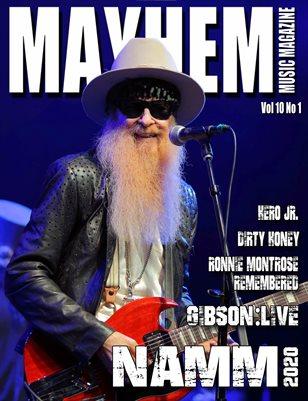 Mayhem Music Magazine Vol 10 No 1