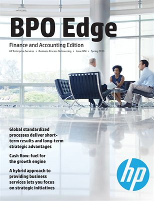 BPO Edge Issue 4 - Finance and Accounting (Spring 2013)