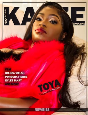 KAYZE MAGAZINE ISSUE 9 TOYA