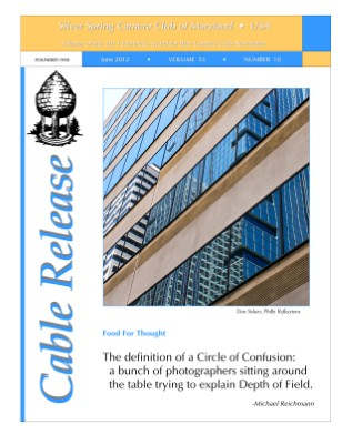 June 2012 Cable Release, Vol. 53, No. 10