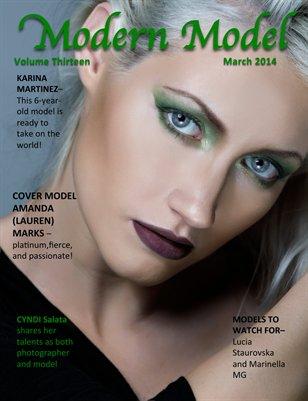 Modern Model March 2014