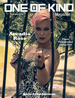 ONE OF A KIND MAGAZINE - Cover Model Arcadia Rose - November 2018
