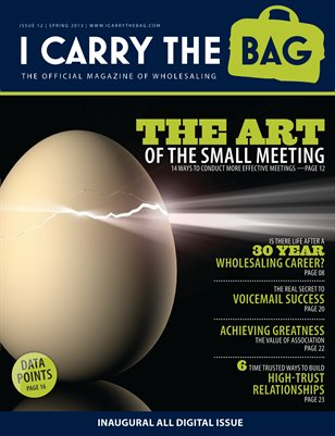 Spring 2013 - The Art of the Meeting