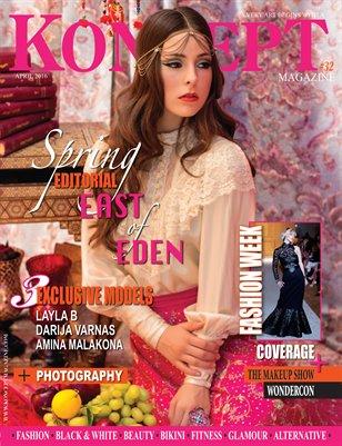 Koncept Magazine April 2016