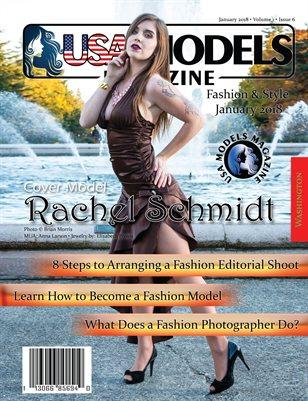 USA Models Magazine • Fashion/Style Issue • Jan 2018 • Vol 1 • Issue 6