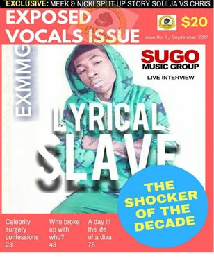 Ex Money Magazine Cover Edition Lyrical Slave
