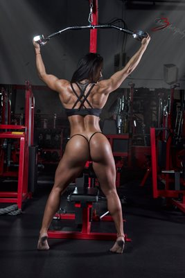 Ana Cozar Back workout