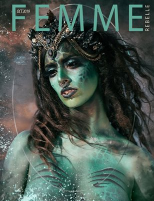 Femme Rebelle Magazine Oct 2019 BOOK 1 - Simon Clarke Cover