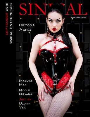 Sinical September 2018 Issue - Bryona Ashly cover edition