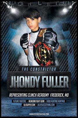 Jhondy Fuller Blue - Poster