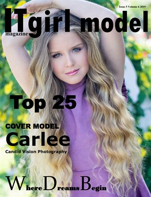 It girl model magazine Issue 5 Volume 6 2019 TOP 25