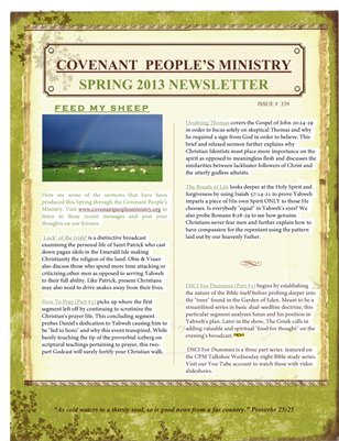 Covenant People's Newsletter #339