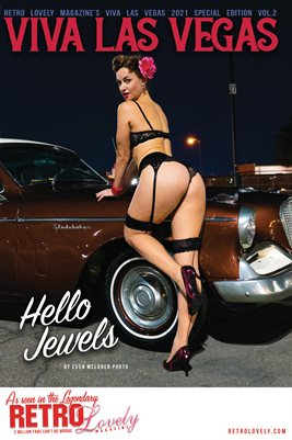 Viva Las Vegas 2021 Special Edition Volume 2 Hello Jewels Cover Poster