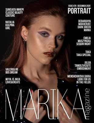 MARIKA MAGAZINE PORTRAIT (DECEMBER-ISSUE 476)