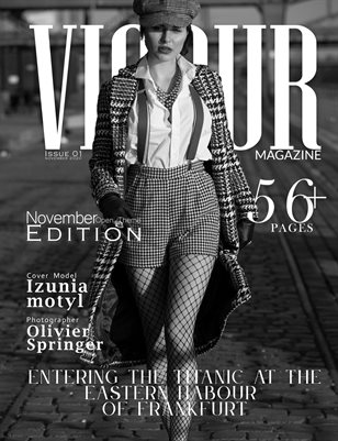 Vigour Magazine November Issue 01