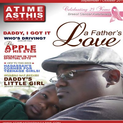A Time as This Magazine Issue 3, Daddy's Little Girl