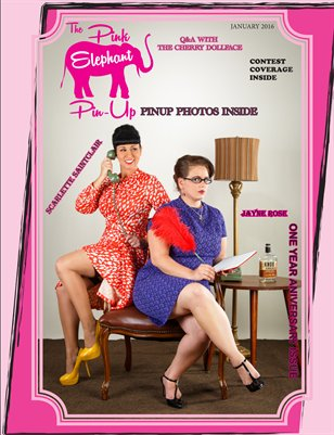 The Pink Elephant Pinup One Year Anniversary Issue