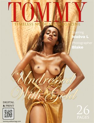 Maeva L - Undressed With Gold - Blake