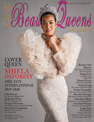 World Class Beauty Queens Magazine issue 115 Shiela DeForest