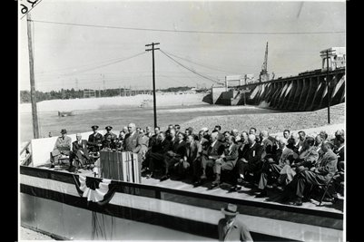 1945 Truman Dedicates Kentucky Dam