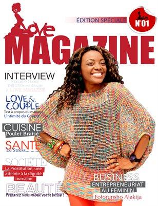 LOVE MAGAZINE OPUS 01 (Mars-Avril 2014) - KINSHASA/RDCONGO