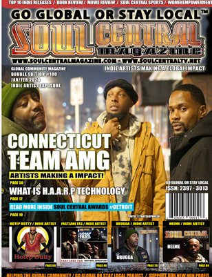 Soul Central Magazine Edition #100 TEAM AMG