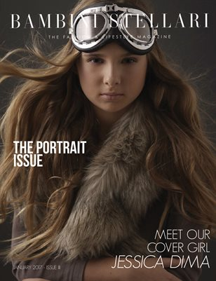 Bambini Stellari Magazine - The Portrait Issue 2017 - Cover #2