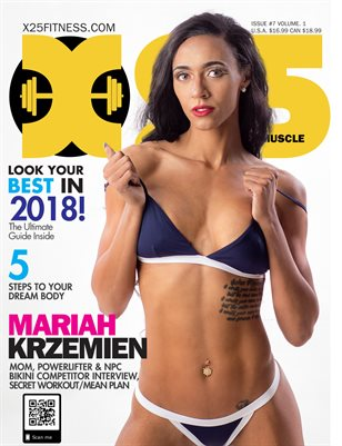 X25 Fitness Magazine #7 Mariah Krzemien