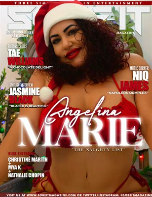 SO BE IT MAGAZINE ISSUE 49 ANGELINA MARIE