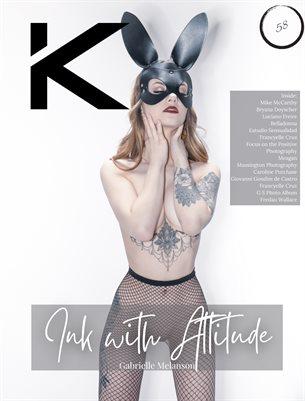 Kansha Magazine Chapter 58 Featuring Gabrielle Melanson