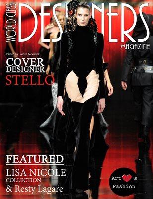 World Class Designers Magazine with Stello LAFW 2017