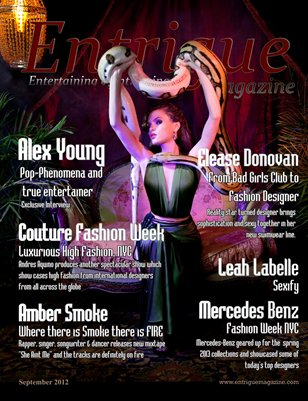 Entrigue Magazine Sept 2012