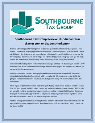 The Southbourne Tax Group