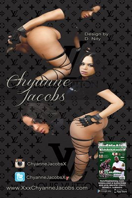 Chyanne Jacobs-Pinky XXX-Hustleaire-12x18 Poster
